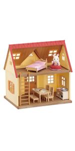 5242 sylvanian families cozy cottage starter h