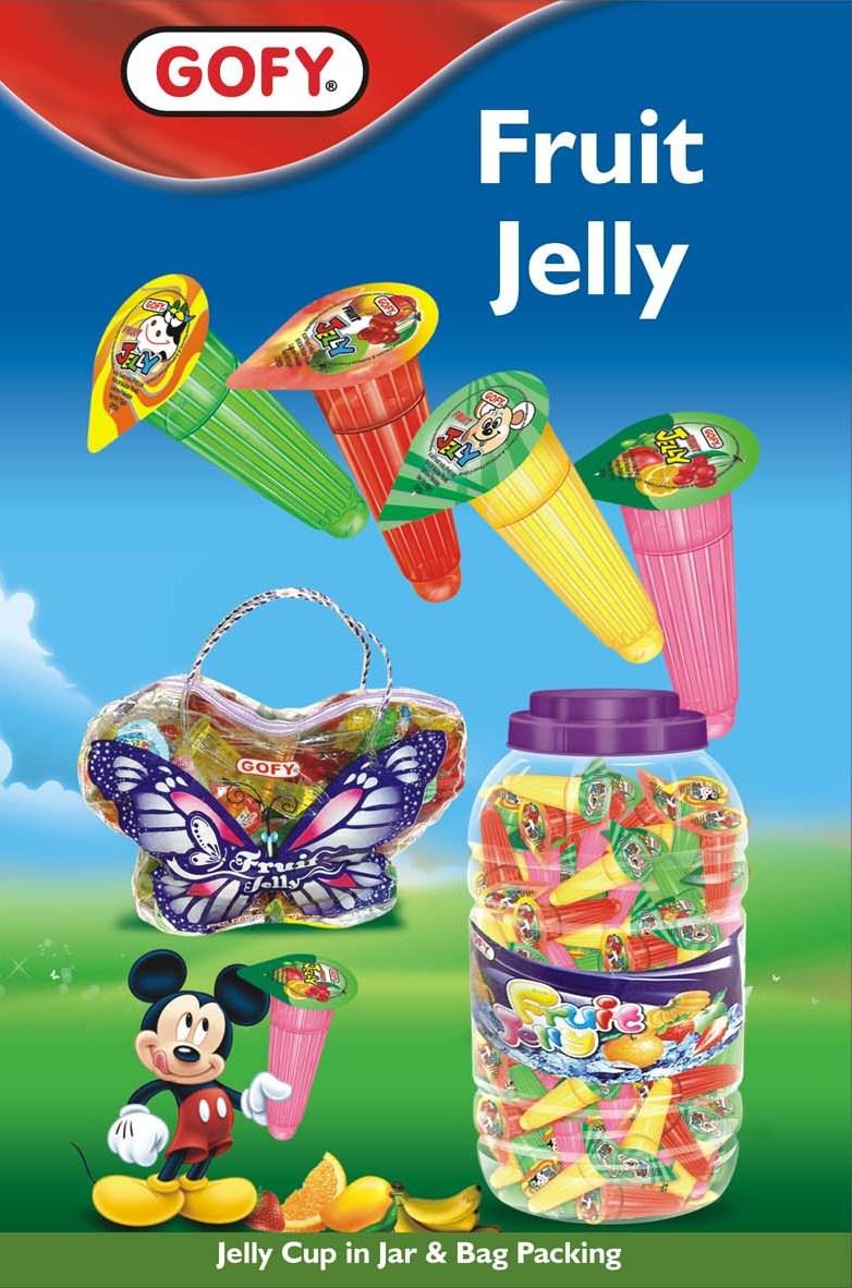 Fruit jelly jar