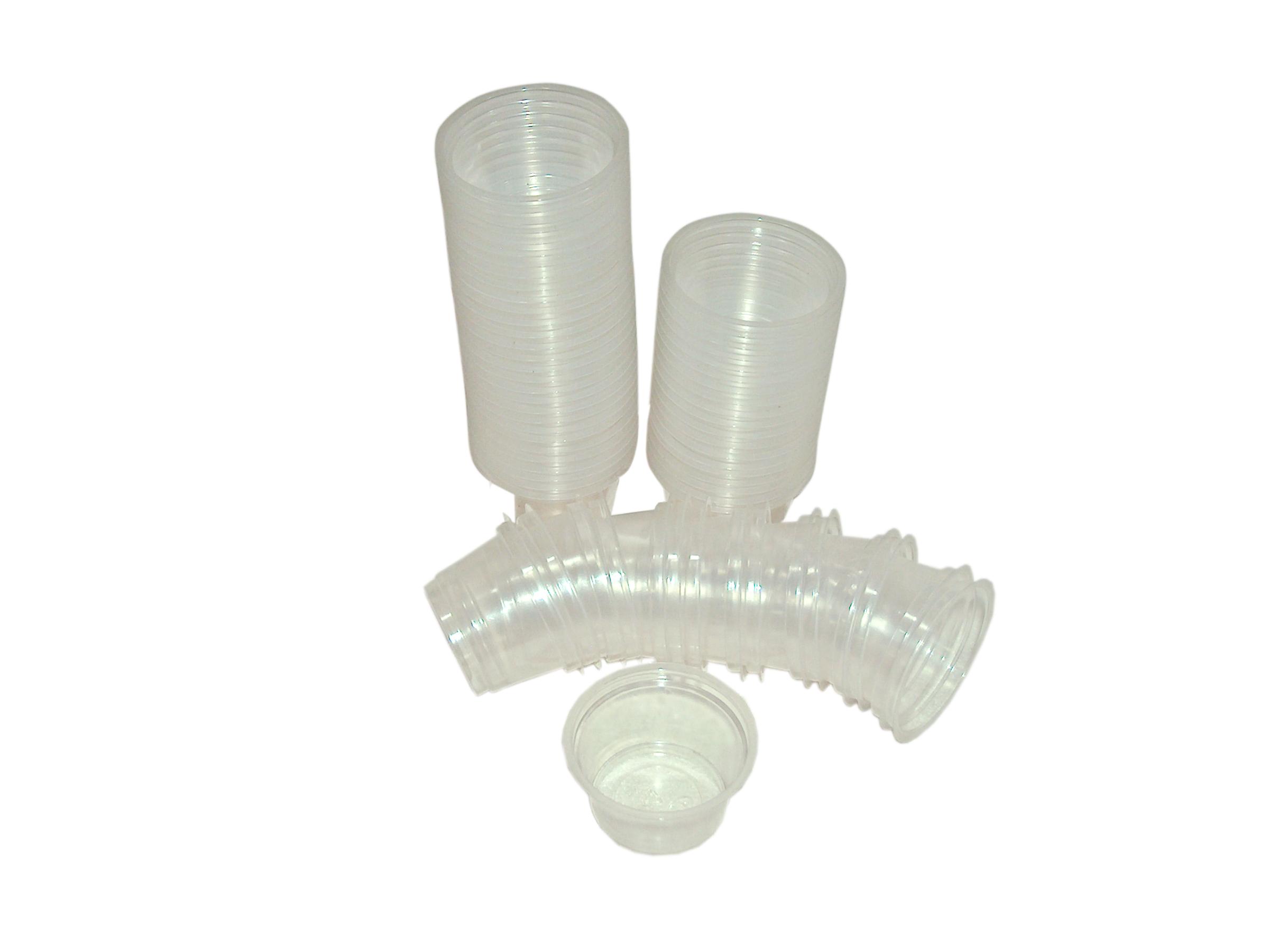 30 ml cups transparent