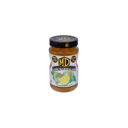 Lime marmalade jam