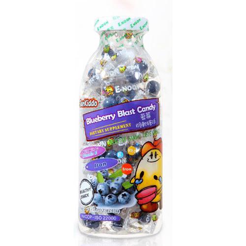 Blueberry blast candy