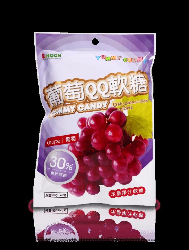 Crystal gummy (grape)