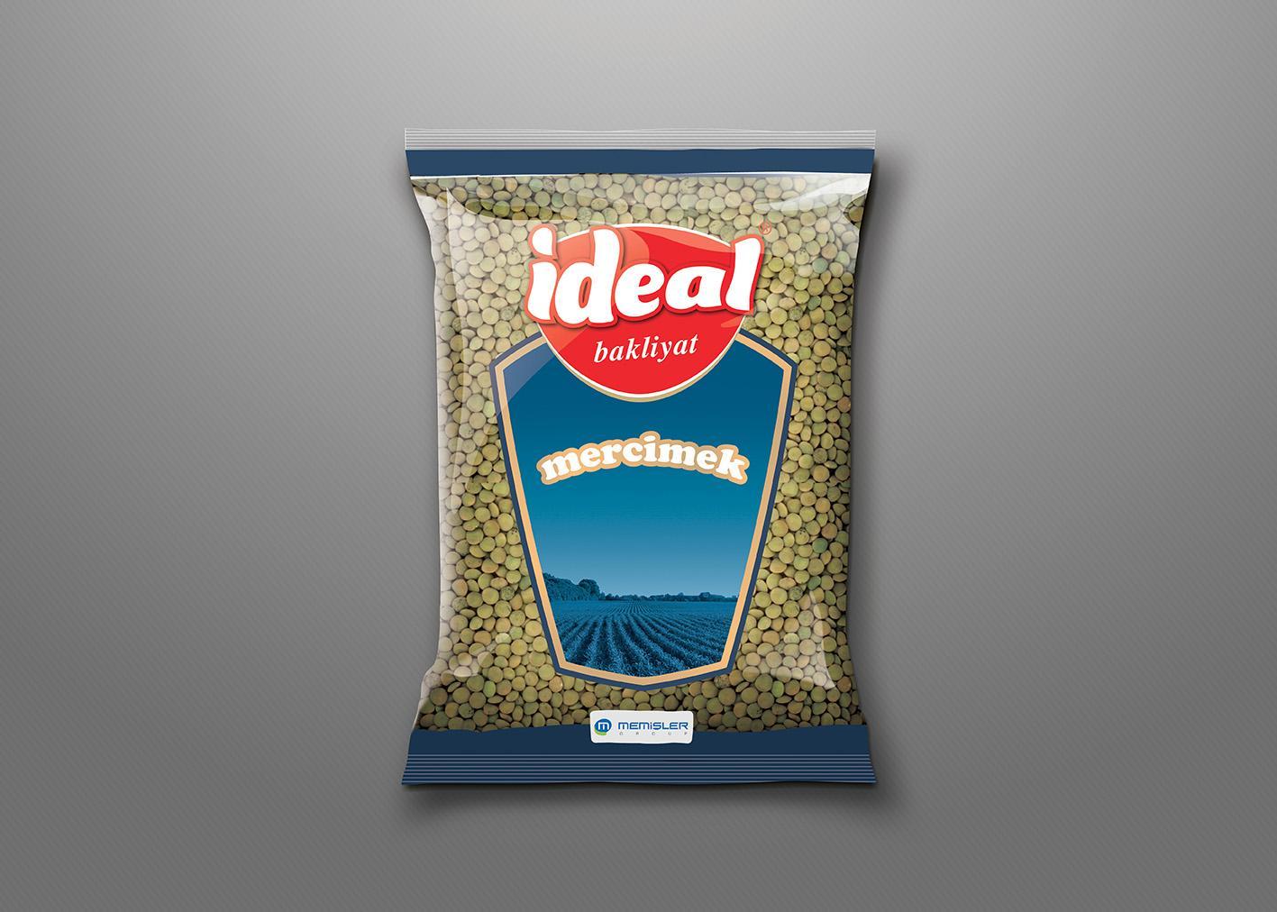 Green lentils