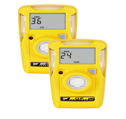 Bw clip gas detector