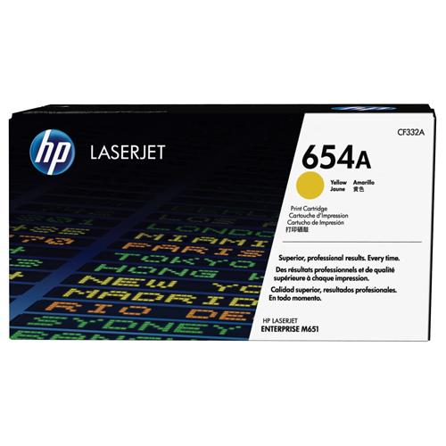 HP CF332A YELLOW (LJ M651) 654A_2