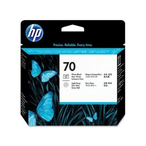 HP C9407A PBK & LT GR  PRINTHEAD #70_2