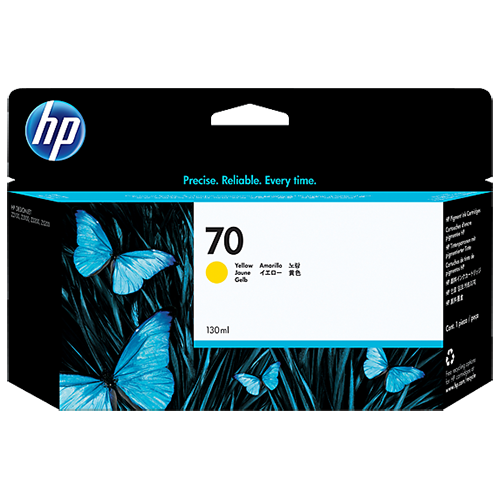 HP C9454A YELL (130ML) #70_2