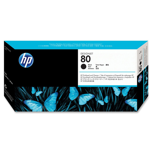 HP C4820A BK PRINTHEAD #80_2