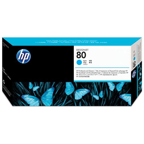 HP C4821A CY PRINTHEAD #80_2