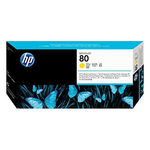 HP C4823A YELL PRINTHEAD #80_2