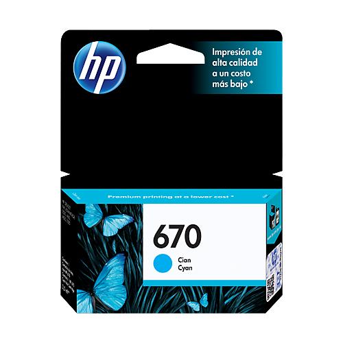 HP CZ114AL  CY #670_2