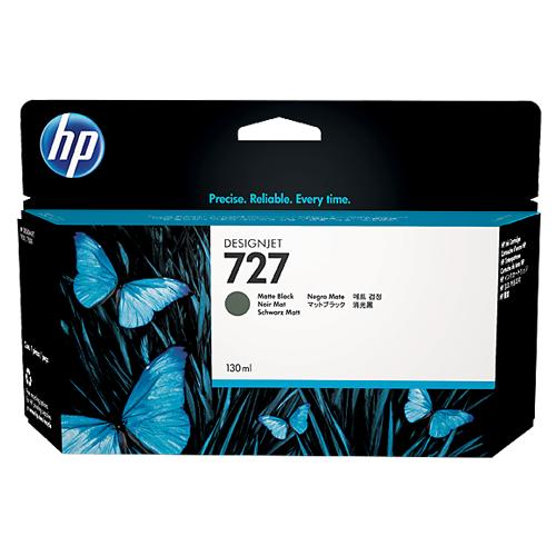 HP  B3P22A MATTE BK(130ML) #727_2