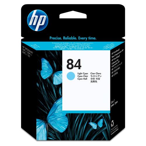 HP C5020A LT CY & LT MAG PRINTHEAD #84_2