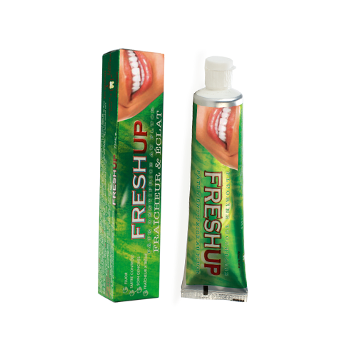 Freshup toothpaste