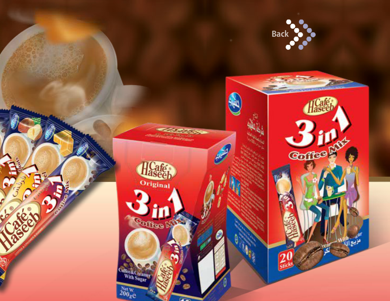 Haseeb 3-in-1 coffee mix