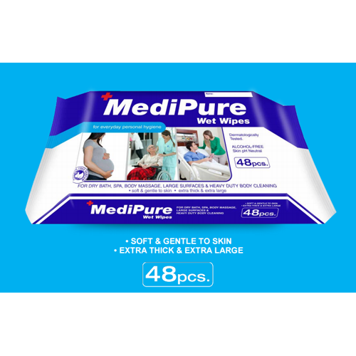 Medipure wet wipes