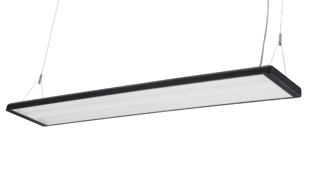 Led / t16 (t5) surface mounted 2x lighting fixtures with frosted diffuser