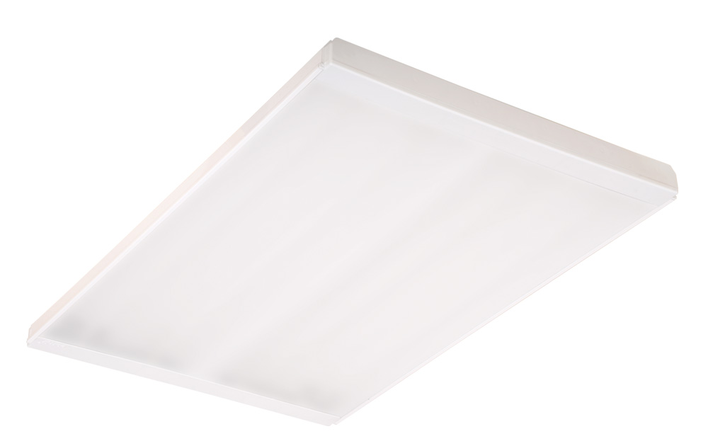 LED / T16 (T5) Surface Mounted 4X Lighting Fixtures With Frosted Diffuser_2