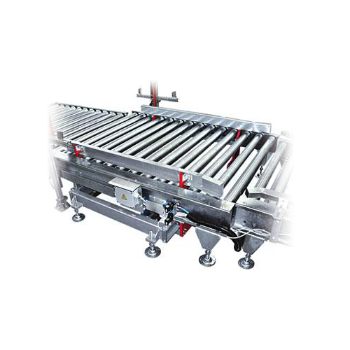 Pallet centring device