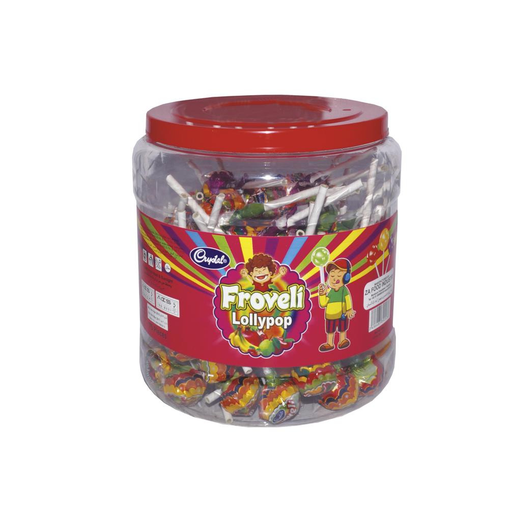 Froveli and milk lollypop jar