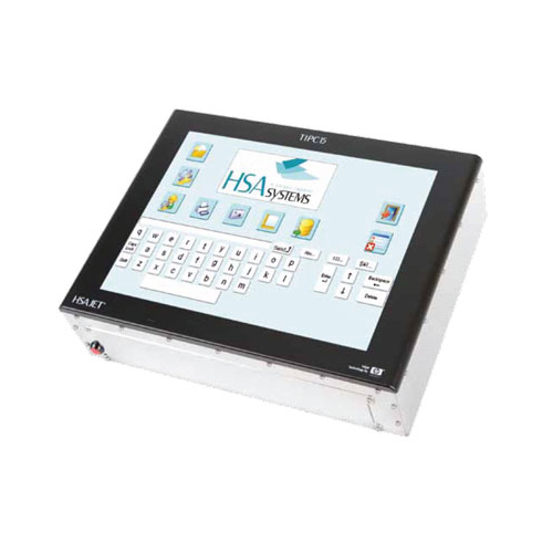 Marking & batch coding and variable data printing - hsajet touch industrial printer controller (tipc15)