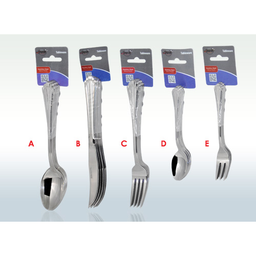 Cutlery silver design