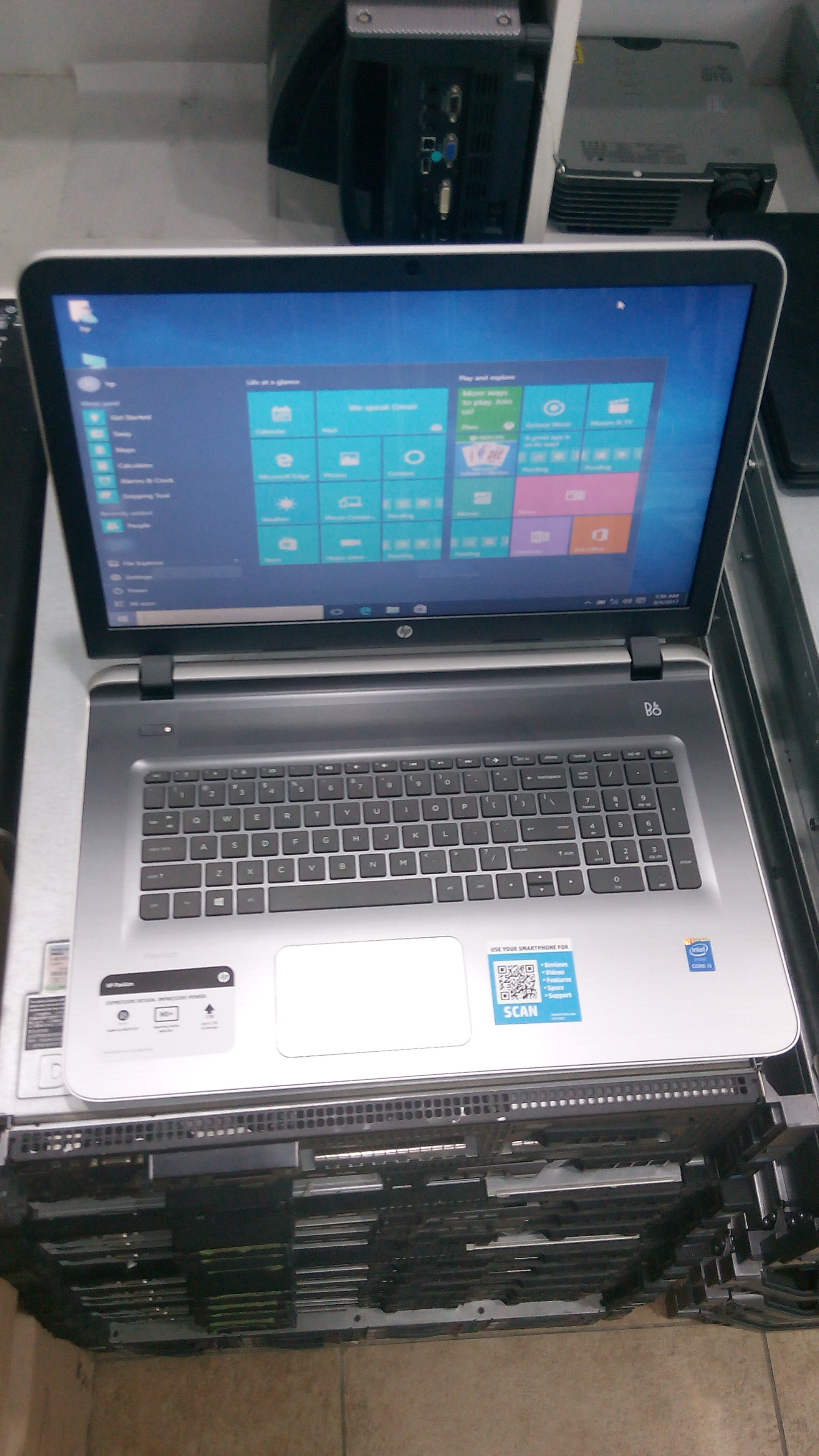 Hp pavilion intel core i5 (17-g192dx)