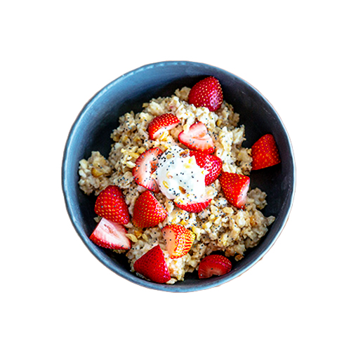 Sweet and savoury oats