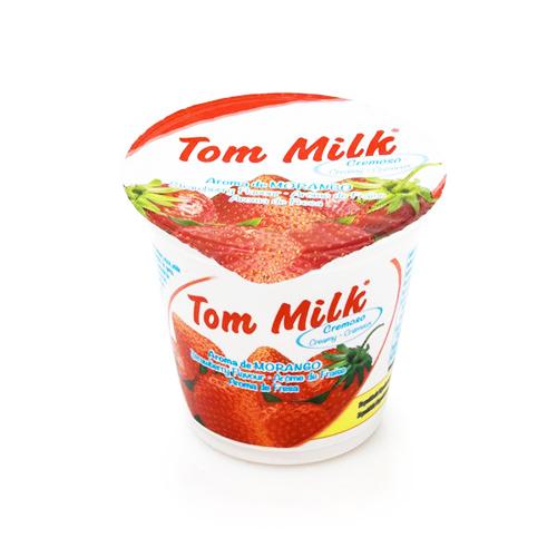 Creamy yogurt strawberry