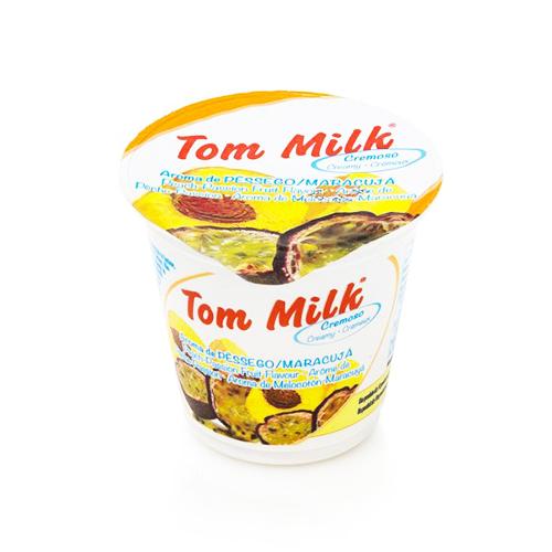 Creamy yogurt pessêgo and passion fruit
