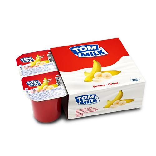 Yogurt aroma banana