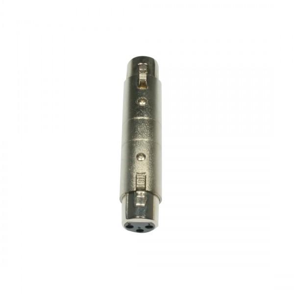 Adapter Plug - AC-A-XF3/XF3 XLR 3POL F-XLR 3POL F_2