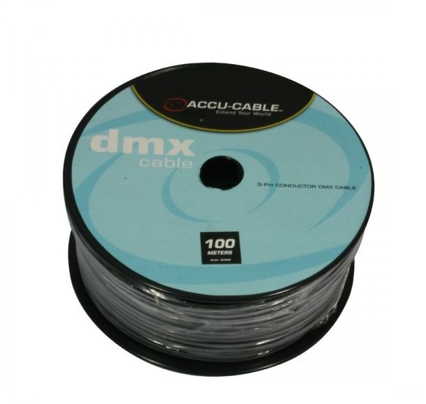 Dmx cable on a roll