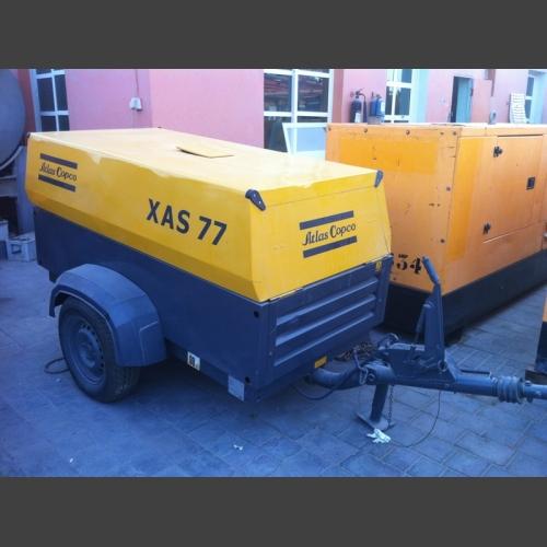 ATLAS COPCO Air Compressor XAS77_2