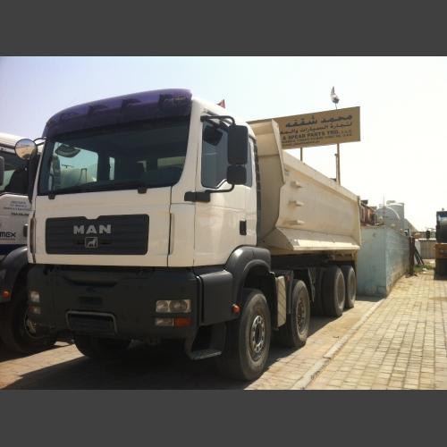 MAN Tipper Truck 4X8_2