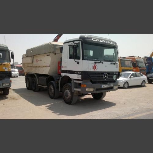 MERCEDES Tipper Truck 6X8 4143_2