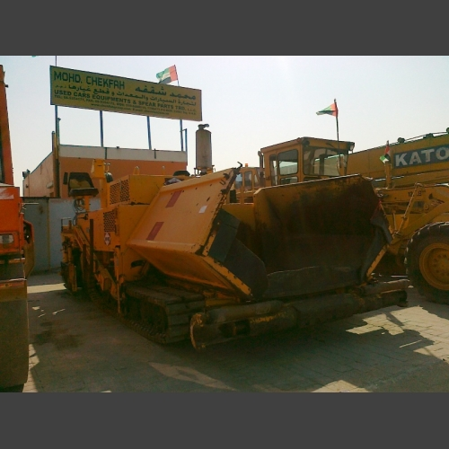 Blow xnox crawler asphalt paver pf510