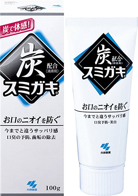 Sumigaki charcoal toothpaste