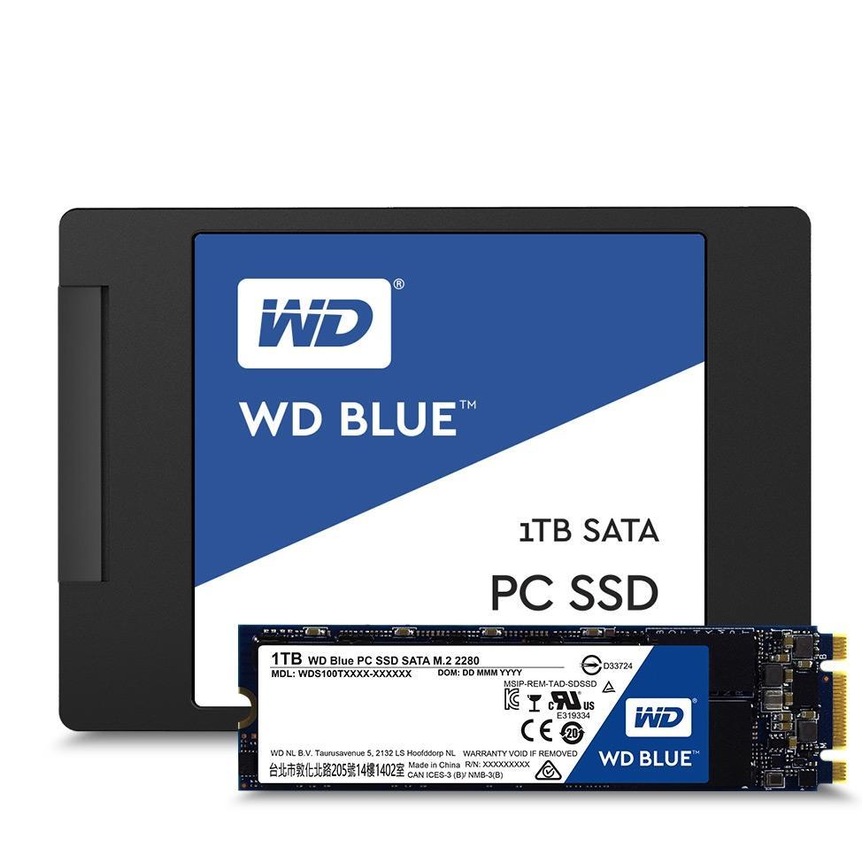 Wd 1tb ssd hard disk blue