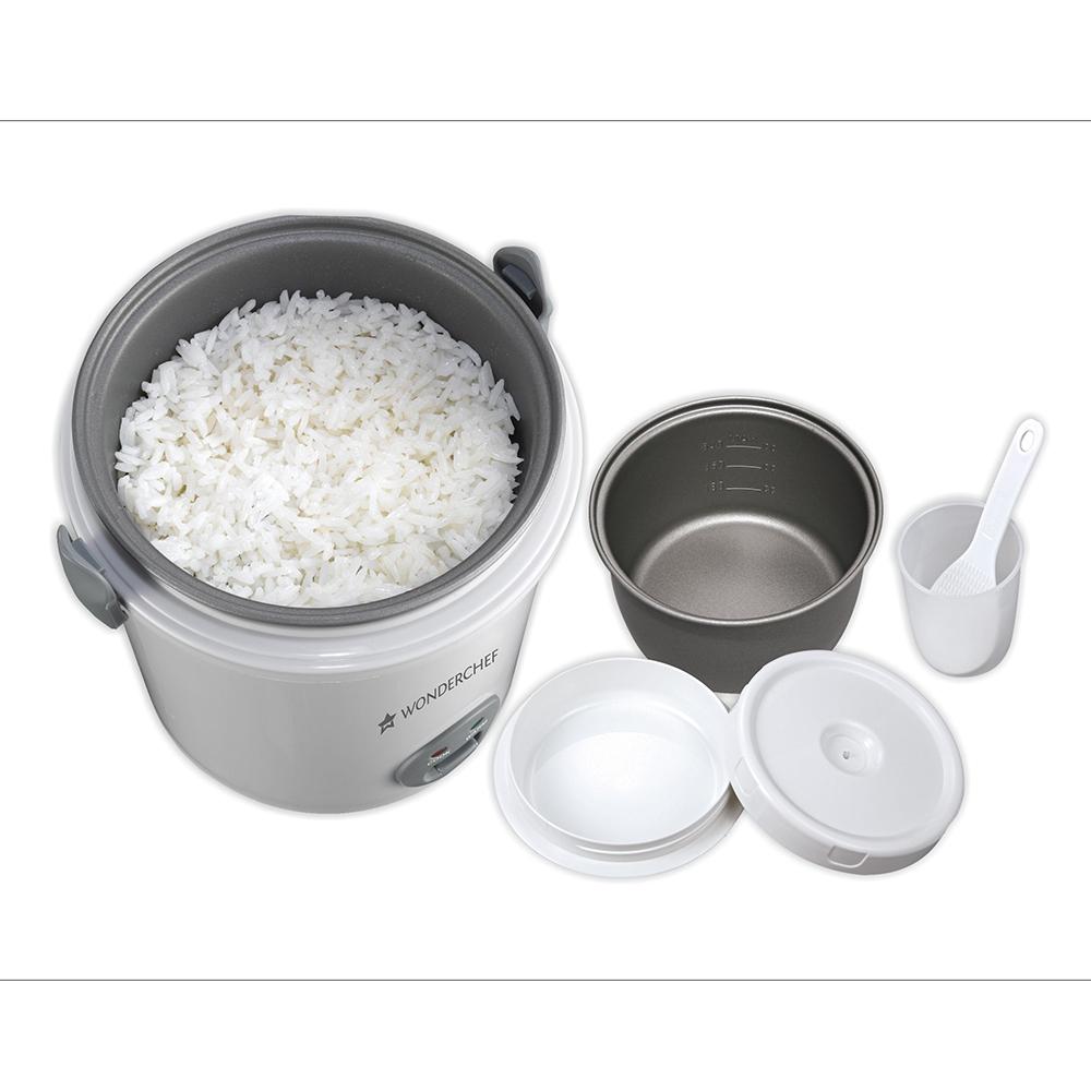 Wonderchef Mini Rice Cooker 0.5L_3