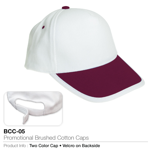 Promotional brushed cotton cap  (bcc-05)