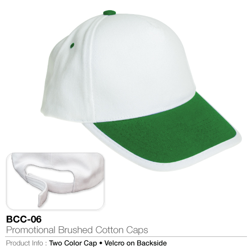 Promotional brushed cotton cap  (bcc-06)