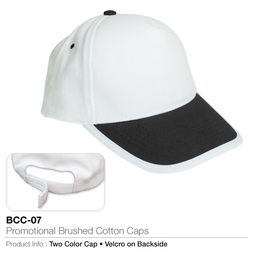 Promotional brushed cotton cap  (bcc-07)