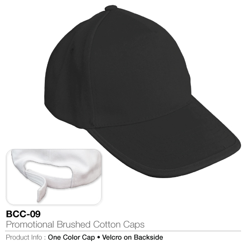 Promotional brushed cotton cap  (bcc-09)