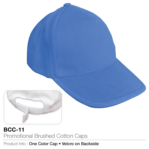 Promotional brushed cotton cap  (bcc-11)