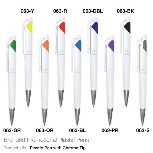Branded Promotional Plastic Pens 063_2