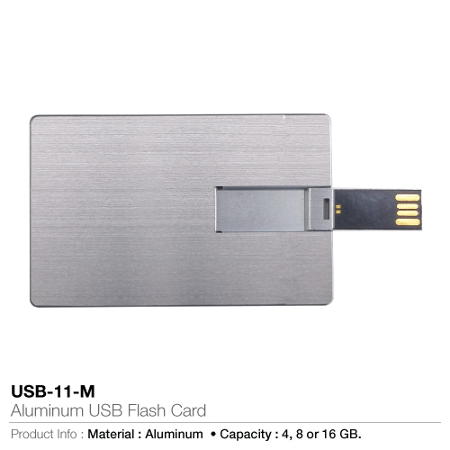 Aluminium USB Flash Card (USB-11-M)_2