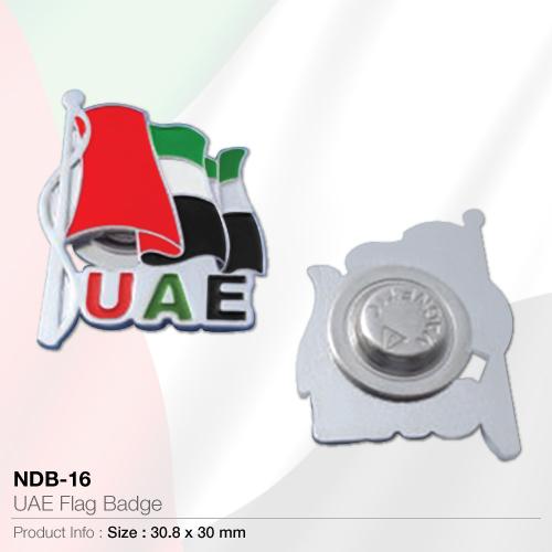 Uae flag badge (ndb-16)
