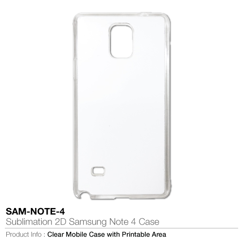 Sublimation 2D Samsung Note 4 Case_2