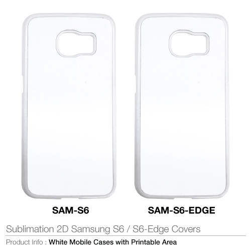 Sublimation 2d samsung s6/s6 edge covers
